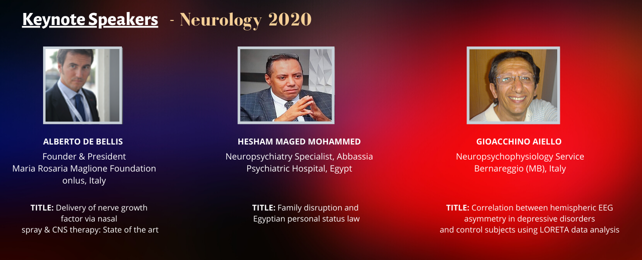 Call for Abstracts|Neurology Conferences|Neuroscience Conferences|Mental Health Conferences|Italy|Europe|USA|Japan|Asia